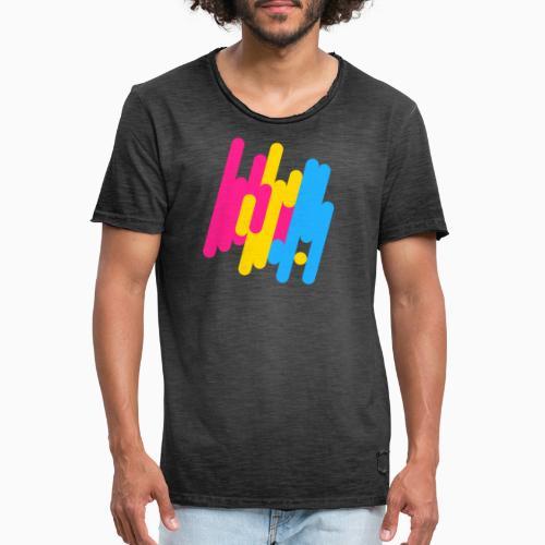 Abstract Panic Design! - Men's Vintage T-Shirt