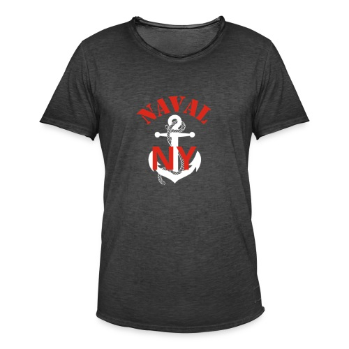 Naval NY - T-shirt vintage Homme