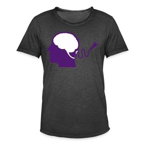 mental - Camiseta vintage hombre