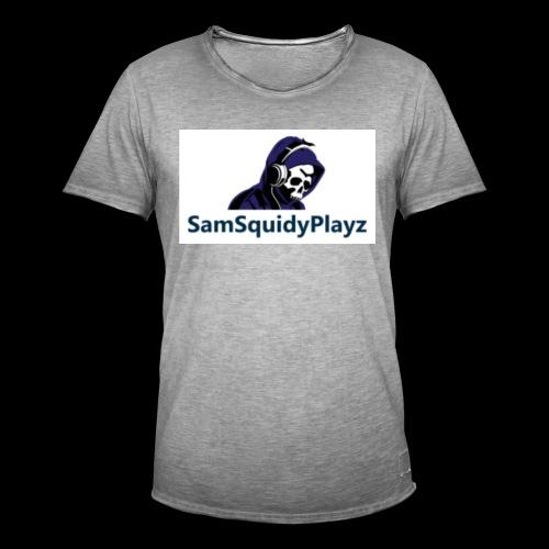 SamSquidyplayz skeleton - Men's Vintage T-Shirt
