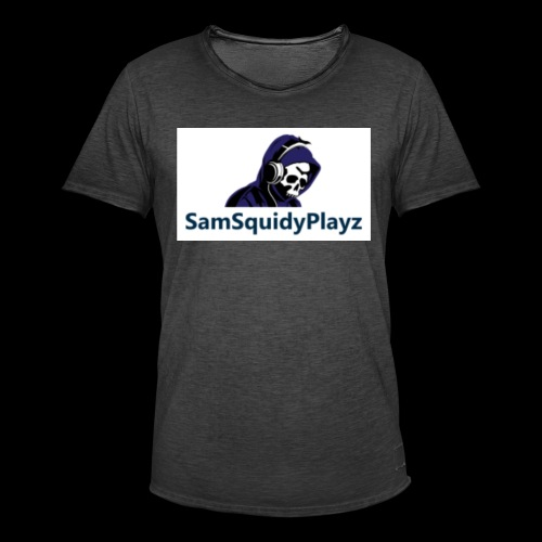 SamSquidyplayz skeleton - Men's Vintage T-Shirt