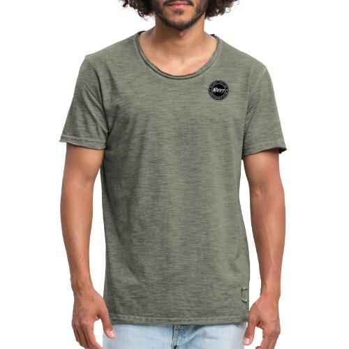 michaelcollins.rocks Logo Patch - Männer Vintage T-Shirt