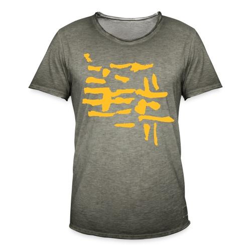 Structure / VINTAGE abstract - Men's Vintage T-Shirt
