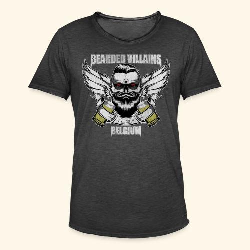 Bearded Villains Belgium - Men's Vintage T-Shirt
