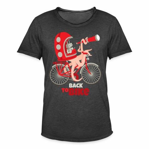 Back to Bike - T-shirt vintage Homme