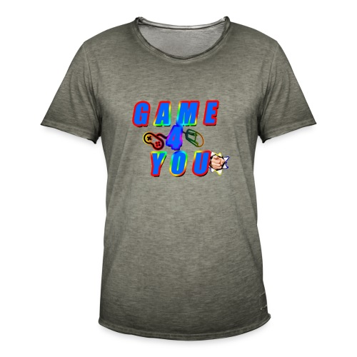 Game4You - Men's Vintage T-Shirt