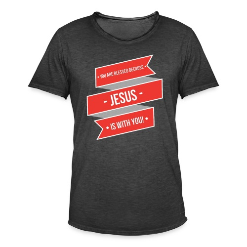 You Are Blessed - Men's Vintage T-Shirt