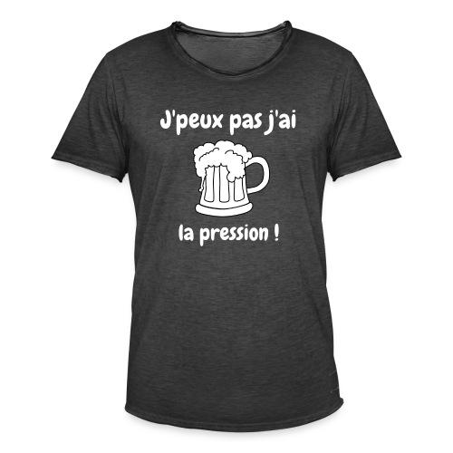j'peux pas j'ai la pression - T-shirt vintage Homme