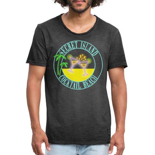 SECRET ISLAND - Camiseta vintage hombre
