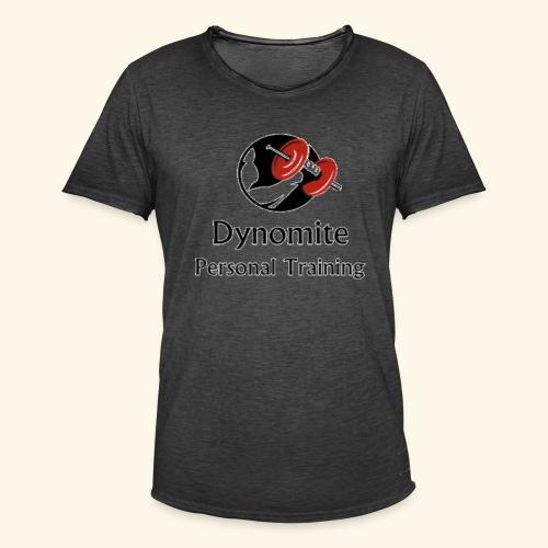 Dynomite Personal Training - Men's Vintage T-Shirt