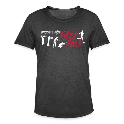 Zombie fast food - Men's Vintage T-Shirt