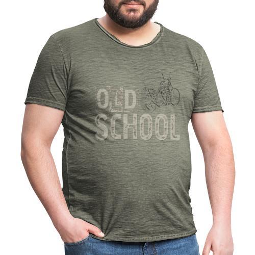 Old school - Camiseta vintage hombre