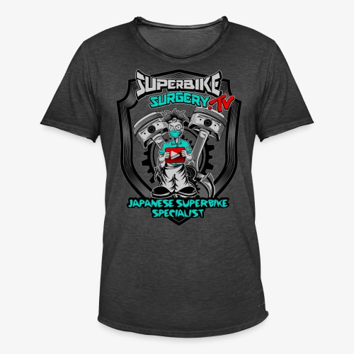 Superbike Surgery TV - Men's Vintage T-Shirt