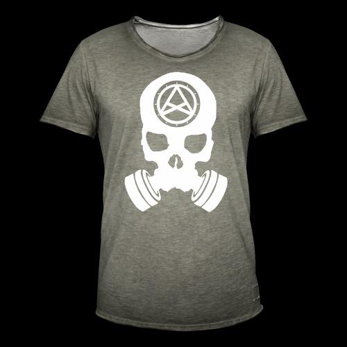 Nether Skull - Maglietta vintage da uomo