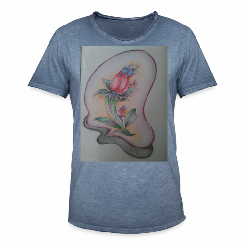 fiore magico - Maglietta vintage da uomo