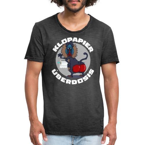 Lockdown Quarantäne Home Office Geschenk Klopapier - Männer Vintage T-Shirt