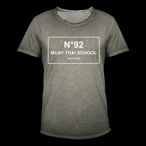 MTS92 N92 - T-shirt vintage Homme