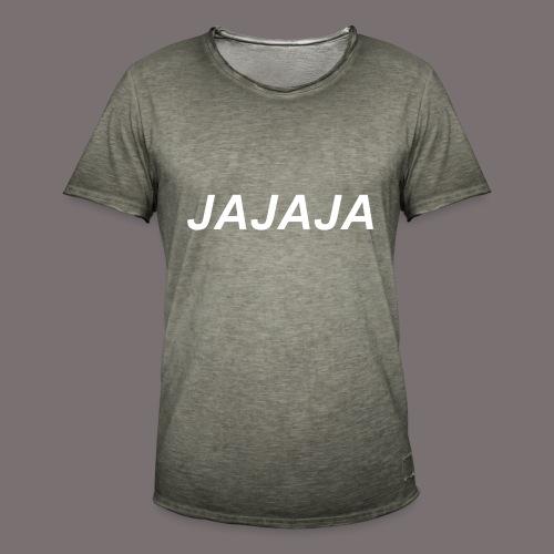 Ja - Männer Vintage T-Shirt