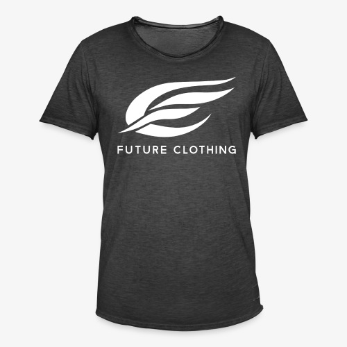 futureclothing white - Männer Vintage T-Shirt