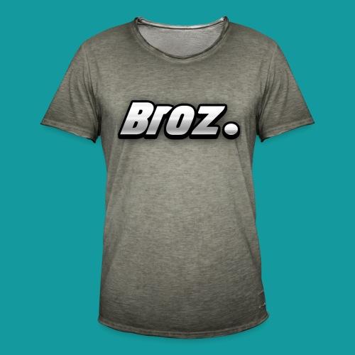 Broz. - Mannen Vintage T-shirt
