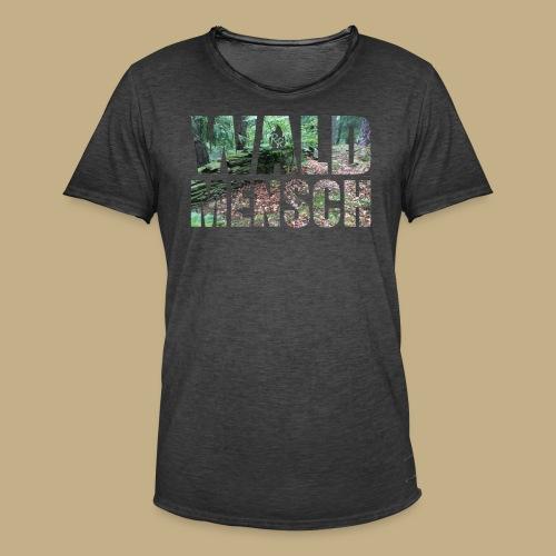 Wald Mensch - Männer Vintage T-Shirt