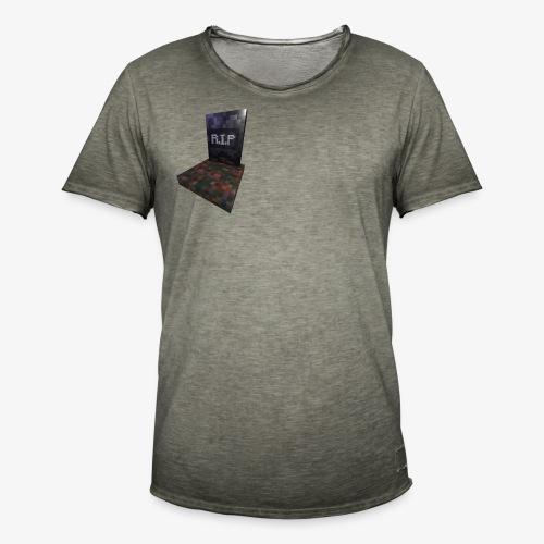 mc rip gravestone - T-shirt vintage Homme