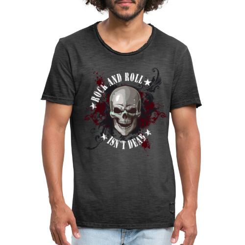 Rock and Roll isn´t dead - Camiseta vintage hombre
