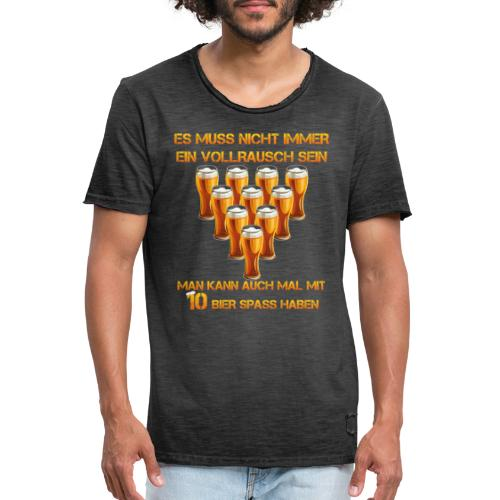 spass mit bier - Männer Vintage T-Shirt