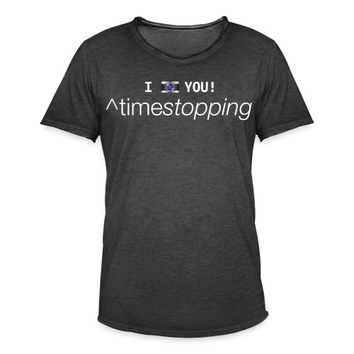 I (photo) you! - Men's Vintage T-Shirt