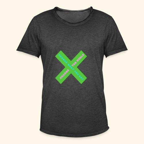 Vegan Day Tshirt - Men's Vintage T-Shirt