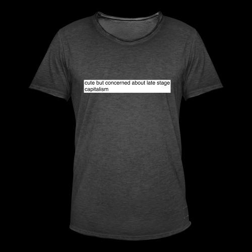 Screen Shot 2017 08 18 at 16 28 57 - Men's Vintage T-Shirt