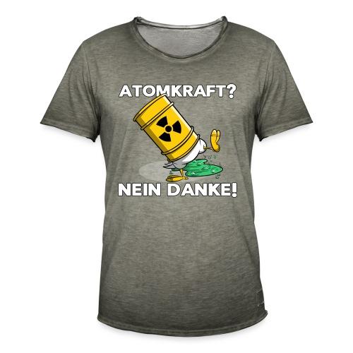 Atomkraft - Nein Danke - Männer Vintage T-Shirt