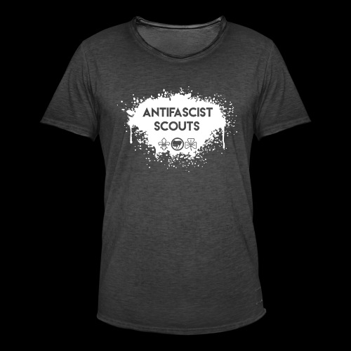 Antifascist Scouts - Men's Vintage T-Shirt