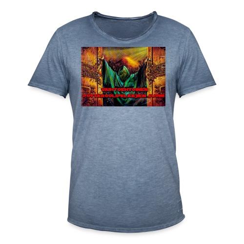 logo - Miesten vintage t-paita