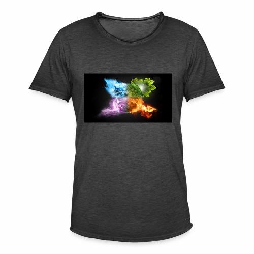 W - Men's Vintage T-Shirt