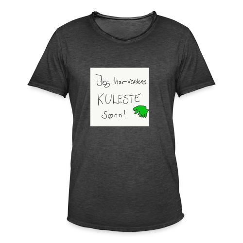 Kul sønn - Vintage-T-skjorte for menn