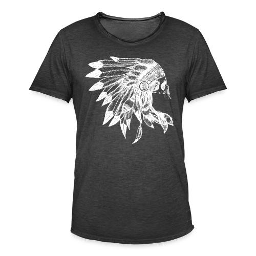 Indianer - Männer Vintage T-Shirt