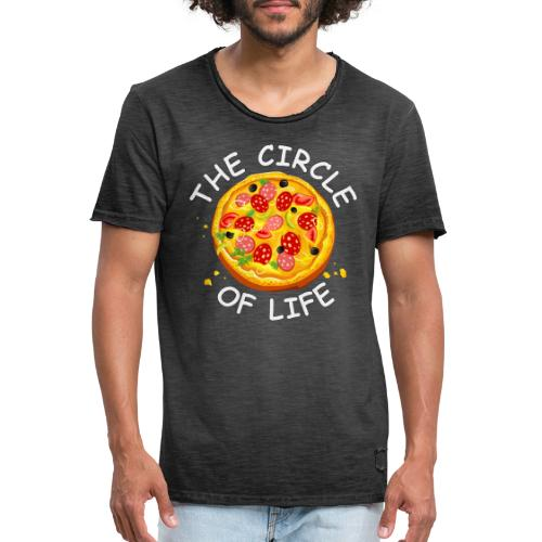 The circle of life - Vintage-T-shirt herr