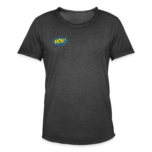 WOW! - Männer Vintage T-Shirt