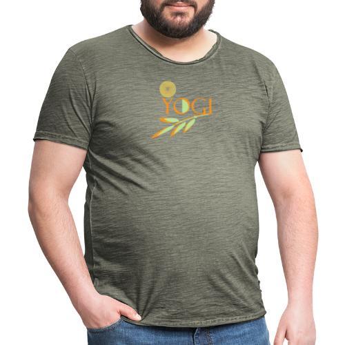 Yogi - Männer Vintage T-Shirt