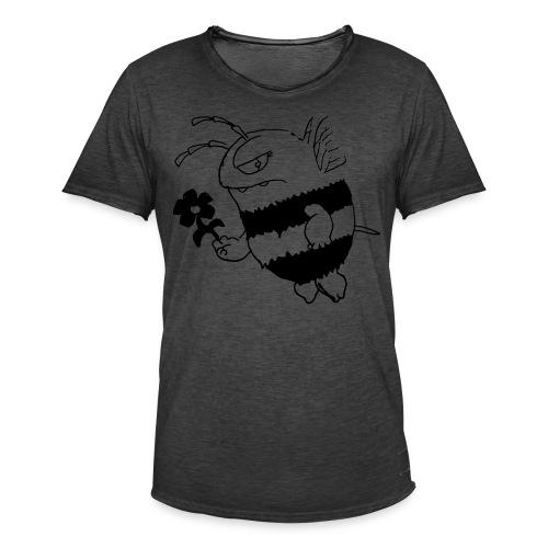 Biene - Männer Vintage T-Shirt