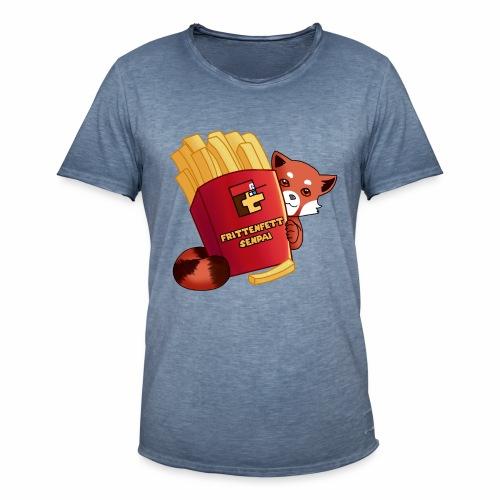 frittenfettSenpai - Männer Vintage T-Shirt