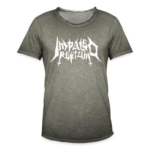 Impaled Rektum -logo shirt - Miesten vintage t-paita
