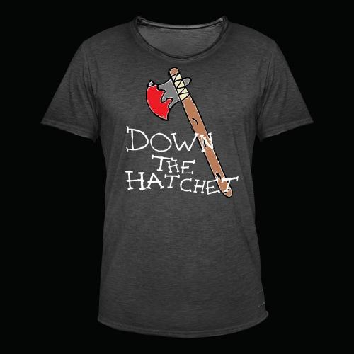 DTH Axe logo T-Shirt - Men's Vintage T-Shirt