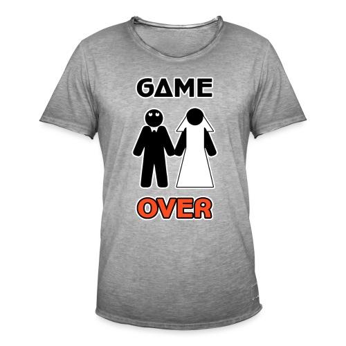 Addio al Celibato - Game Over - Maglietta vintage da uomo