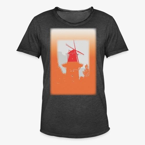 Mills orange - Maglietta vintage da uomo