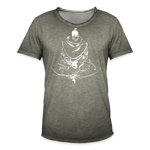 Iaido Samurai Zen Meditation - Men's Vintage T-Shirt
