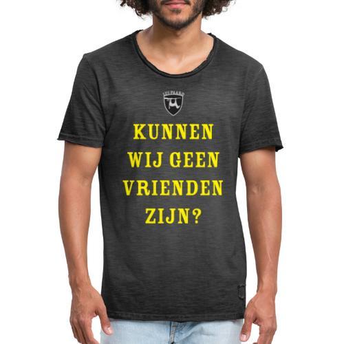 Lui paard tekstflard - Mannen Vintage T-shirt