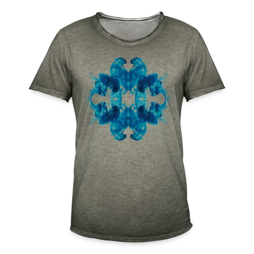 Tintenklecks unter Wasser - Männer Vintage T-Shirt