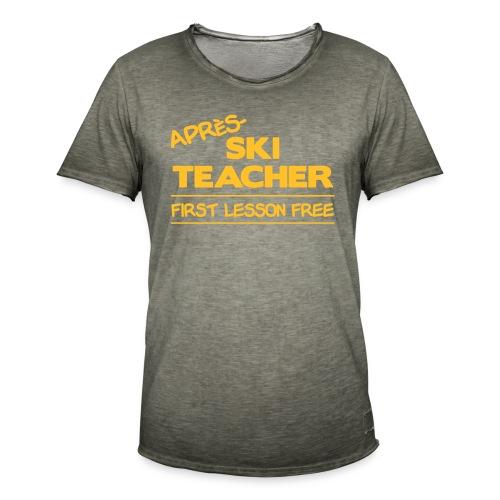 Apres ski teacher - Männer Vintage T-Shirt